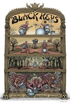 The Black Keys >> OMG THIS ART IS SIMPLY THE BEST
