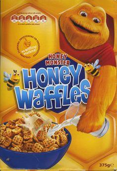 Honey Waffles ©2007 Honey Monster Foods Ltd. UK