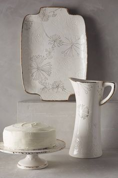 Dandelion Serveware #anthrofave #cottagedecor