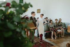 A 1980's and Geometric Inspired Colourful Village Hall Wedding | Love My Dress® UK Wedding Blog + Wedding Directory