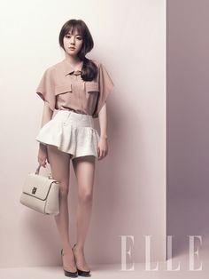 Im Soo Jung in Elle Korea June 2012