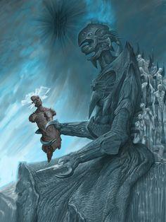 Abaddon of the Pit · Inferno · Wayne Barlowe British Library, Dark Fantasy, Fantasy Art, Lac Michigan, Dcc Rpg, Wayne Barlowe, Les Aliens, Horror Art, Creepy Horror