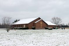 Winter at Christ the King Lutheran Church