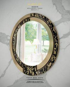 MARYLOU Mirror - Pont des Arts Studio - Designer Monzer Hammoud - Paris -