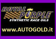 Royal Purple lubrificanti: 100% sintetici PAO e PAO/estere. In Italia il più fornito store online: www.AUTOGOLD.it  #RoyalPurple #EngineOil #MotorOil #OlioMotore