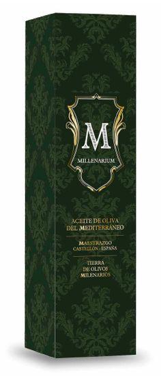 Packaging para exportación de Aceite Millenarium