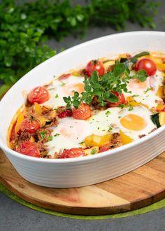 Die Gemüse-Hackpfanne ist Low Carb, glutenfrei und ohne Milchprodukte