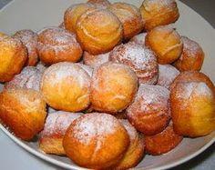 GÓBÉHAMI: Krumplifánk Bread Dough Recipe, Winter Food, Pretzel Bites, Donuts, Food And Drink, Peach, Candy, Fruit, Vegetables