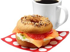 April Fools' Bagel: Doughnut Sandwich recipe from Food Network Kitchen via Food Network