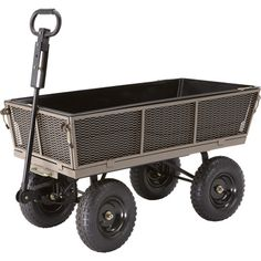 Gorilla Carts Dump Cart — 1200-Lb. Capacity, 5 Cu. Ft., Model# NTEMP14 $139 @ Northerntool