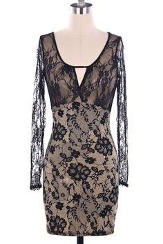 Vanilla Monkey Floral Lace Print Dress $24.99