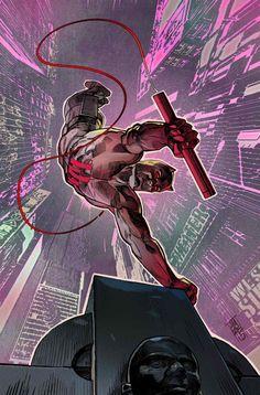 Daredevil #16 NYC Variant - Alex Maleev
