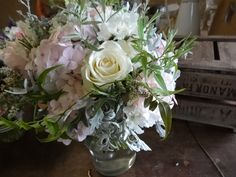 August wedding flowers by Catkin