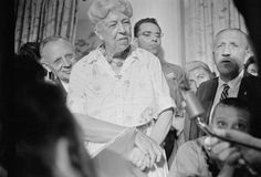 Eleanor Roosevelt at 1960 Democratic Convention. See other photos in series. NYTimes.