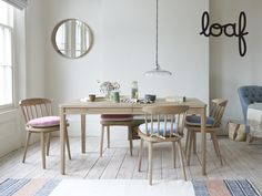 Here& a seat pad to save supper time. It& a clever combo of spill-resistant clever velvet with a soft linen flipside - and a bumtastic foam core. Home, Seat Pads, Comfy Sofa, Interior, Beautiful Bedding, Interior Design Kitchen, Interior Design Kitchen Small, Solid Oak Kitchen Table, Dining Table