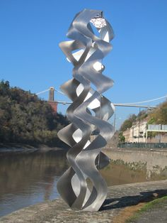 Aurora - Sculpture by Pete Moorhouse. This sculpture reworks traditional Islamic art into contemporary sculptural form. Steel Sculpture, Modern Sculpture, Sculpture Art, Sculptures, Sculpture Ideas, Towards The Sun, Hope Symbol, Day For Night, Public Art