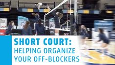 Stay at the net to block or transition to play defense? Do your know blockers know when to do what? Use a drill like this to help them learn which scenarios to stay and block and which ones they need to transition: