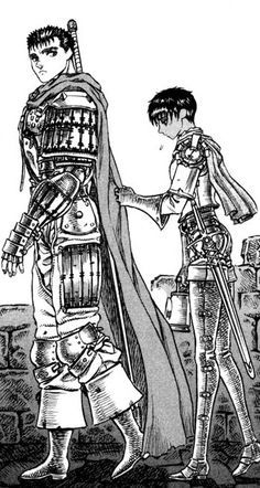 Guts and Casca <3