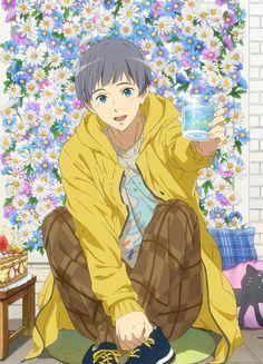Manga Anime, Anime Guys, Anime Art, Cute Characters, Anime Characters, Haikyuu, Splash Free, Free Eternal Summer, Free Iwatobi Swim Club