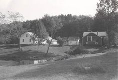 The Robert Frost Farmhouse. Derry, New Hampshire