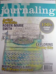 Art Journaling Magazine Summer 2013 issue by Scrapperjudedesigns, $14.99