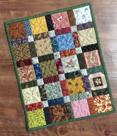 Thank you for all the well wishes regarding my new friend, Friday! Lap Quilts, Scrappy Quilts, Small Quilts, Mini Quilts, Quilt Blocks, Small Quilt Projects, Quilting Projects, Blog Art, Picnic Quilt
