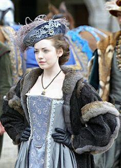 Sarah Bolger as Mary Tudor (The Tudors HBO production)