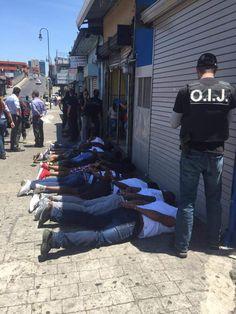 Realizan gran operativo antidrogas en el centro de San José