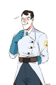 TF2 BLU Medic