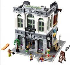 LEGO Creator Expert Brick Bank Building Set Construction Blocks Minifigures Toys