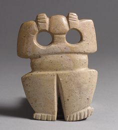 Figure Pendant, 4th–8th century Costa Rica; Atlantic Watershed Pyrophyllite