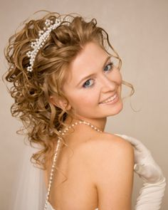 Wedding HairStyle half up | Half Up Half down Wedding Hairstyles with 7 Steps | For New Brides ...
