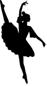 Resultado de imagem para decoraçao bailarina silhueta