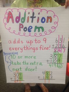 addition rhymes - Google Search