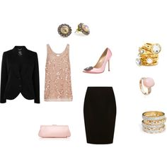 Dressed for Dinner, created by henrietta-r-murray on Polyvore