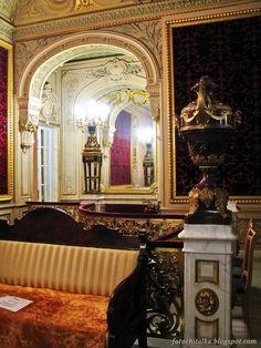 Интерьер Буфетной лестницы. Владимирский дворец - Дом ученых
