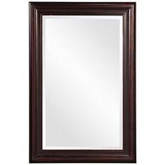 "Howard Elliott George Oil Rubbed Bronze 24"" x 36"" Mirror"