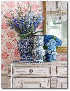 Lillian August Swedish Styled Wallpaper