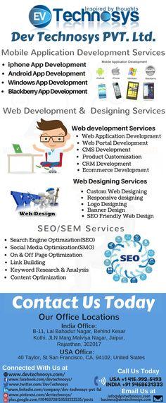 Mobile & Web Development Company -  Devyechnosys Pvt. Ltd. #Mobileapp #Mobileapplication #webdevelopment #Webdesign #websitedevelopment