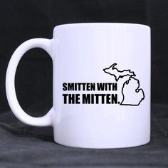 Best Michigander Mug - Popular Smitten with the Mitten mug11 ouncesbest Custom White Mug *** Details can be found by clicking on the image. (This is an affiliate link and I receive a commission for the sales) #Kitty