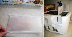 Kitchen Hack: Make a Toaster Bag Out of Parchment Paper