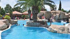 Camping L´Hippocampe, Argeles sur Mer, Frankreich, Pool