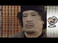 Muammar Gaddafi Interviewed Just Before Libyan Revolution - YouTube