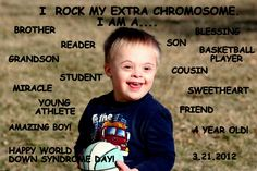21st March - World Down Syndrome Day