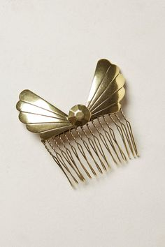 Nouveau Bow Comb - #Anthropologie #anthrofave