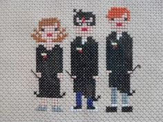 Hermione, Harry and Ron!