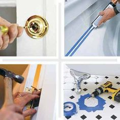 From dead doorbells and jammed doors, to caulking the bath and replacing broken tiles, TOH presents 18 quick fixes to do before holiday guests arrive. | thisoldhouse.com