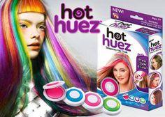 Hot huez hajszínező korongok