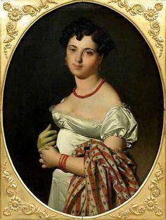 Ingres, Madame Panckoucke, 1811, musée du Louvre