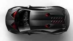Lamborghini Sesto Top View Concept